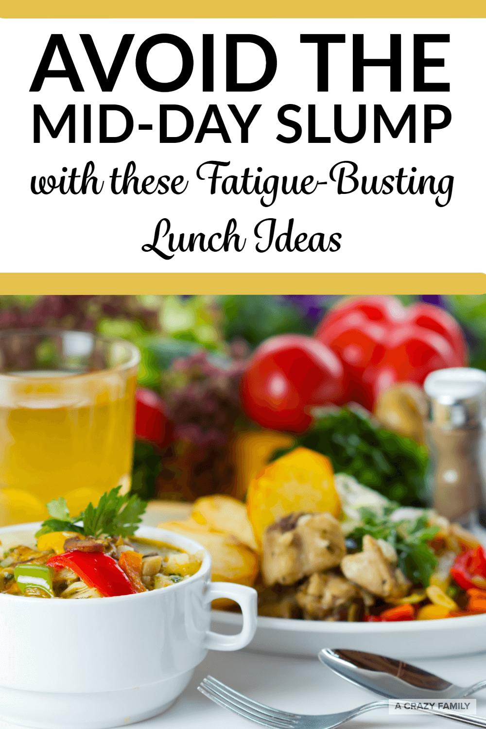 avoid the mid-day slump