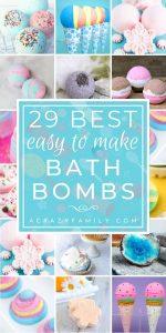 29 Fabulous DIY Bath Bombs for Beautiful & Sweet Smelling Skin