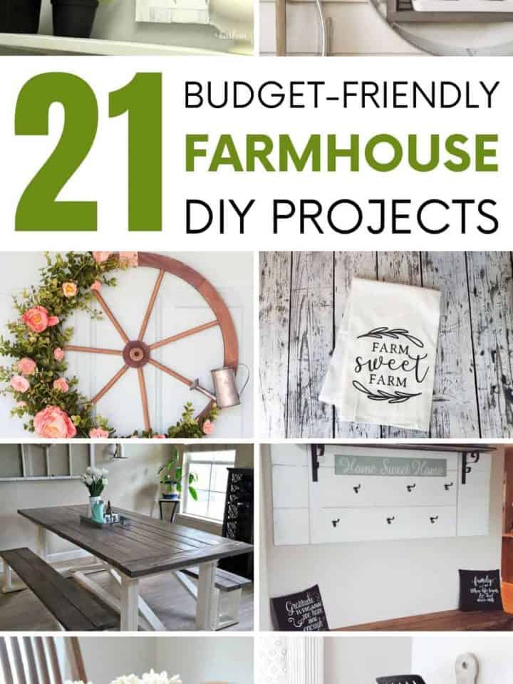 21 DIY Farmhouse Decor Ideas For Charming Rustic Decor