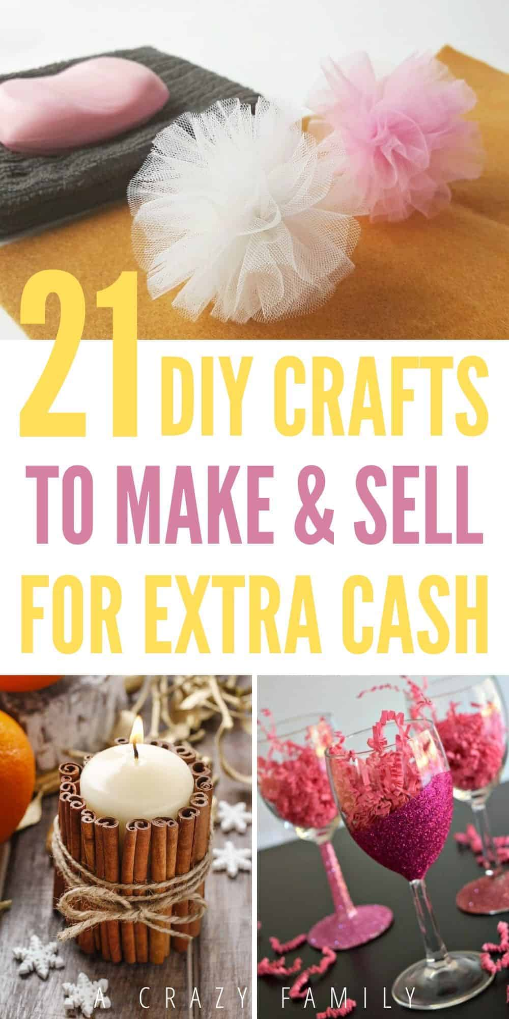 DIY craft ideas you can handmake and sell.