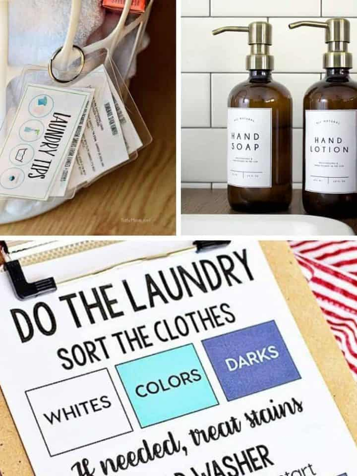 11 Free Printables That Will Make Laundry Day Easier For Everyone