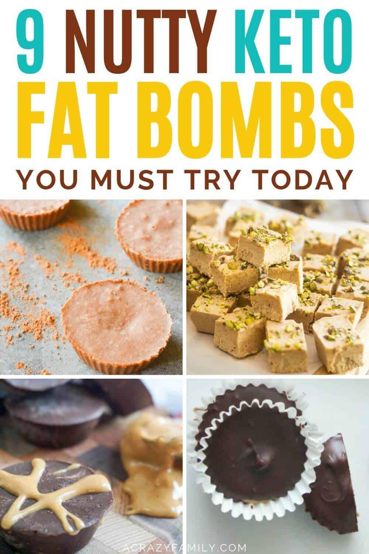 nutty keto fat bombs