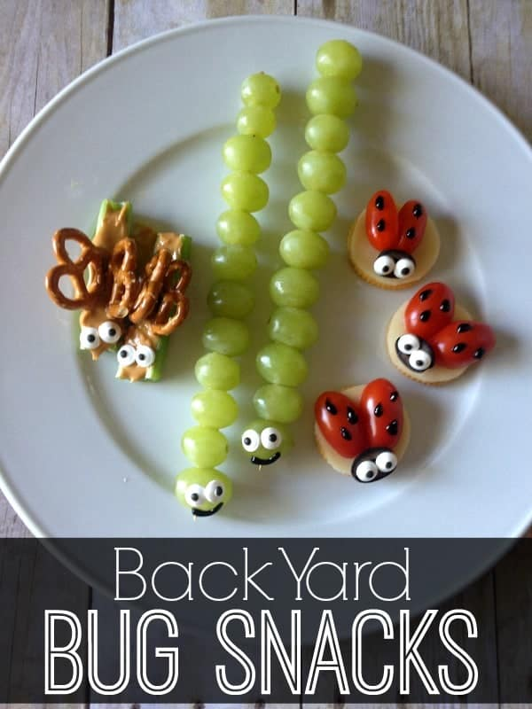 Back Yard Bug Snacks by The Crafting Chicks