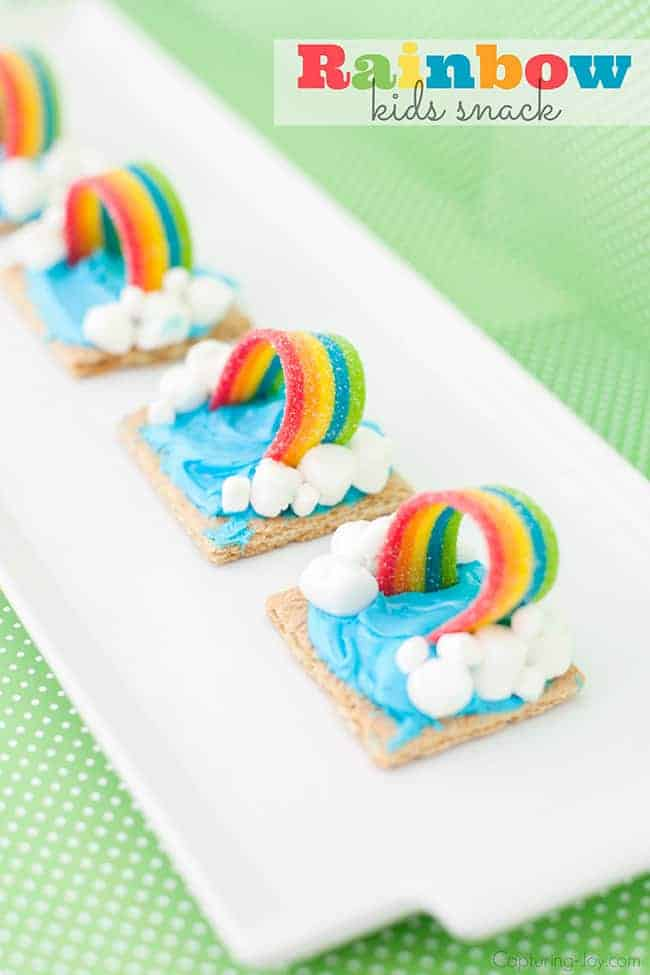 Rainbow Kids Snack by The Crafting Chicks