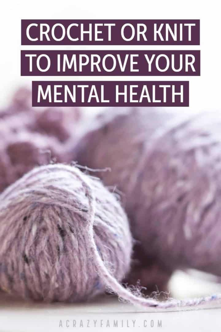 3 Ways Knitting Or Crocheting Can Improve Mental Health