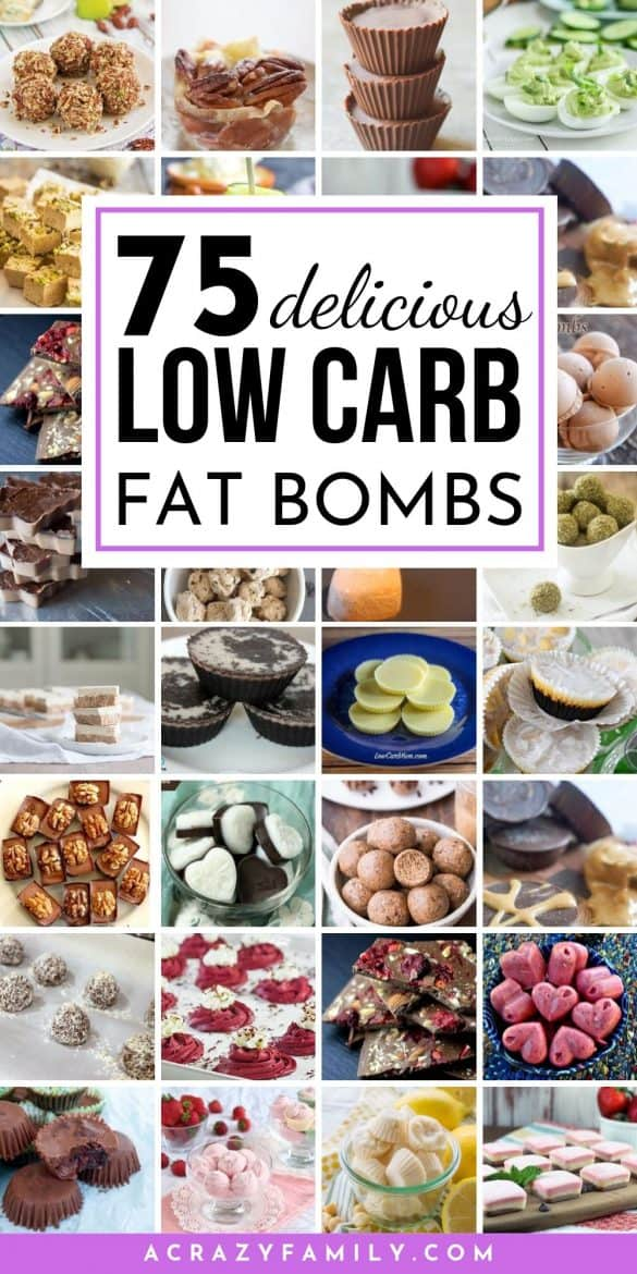 delicious low carb keto fat bombs