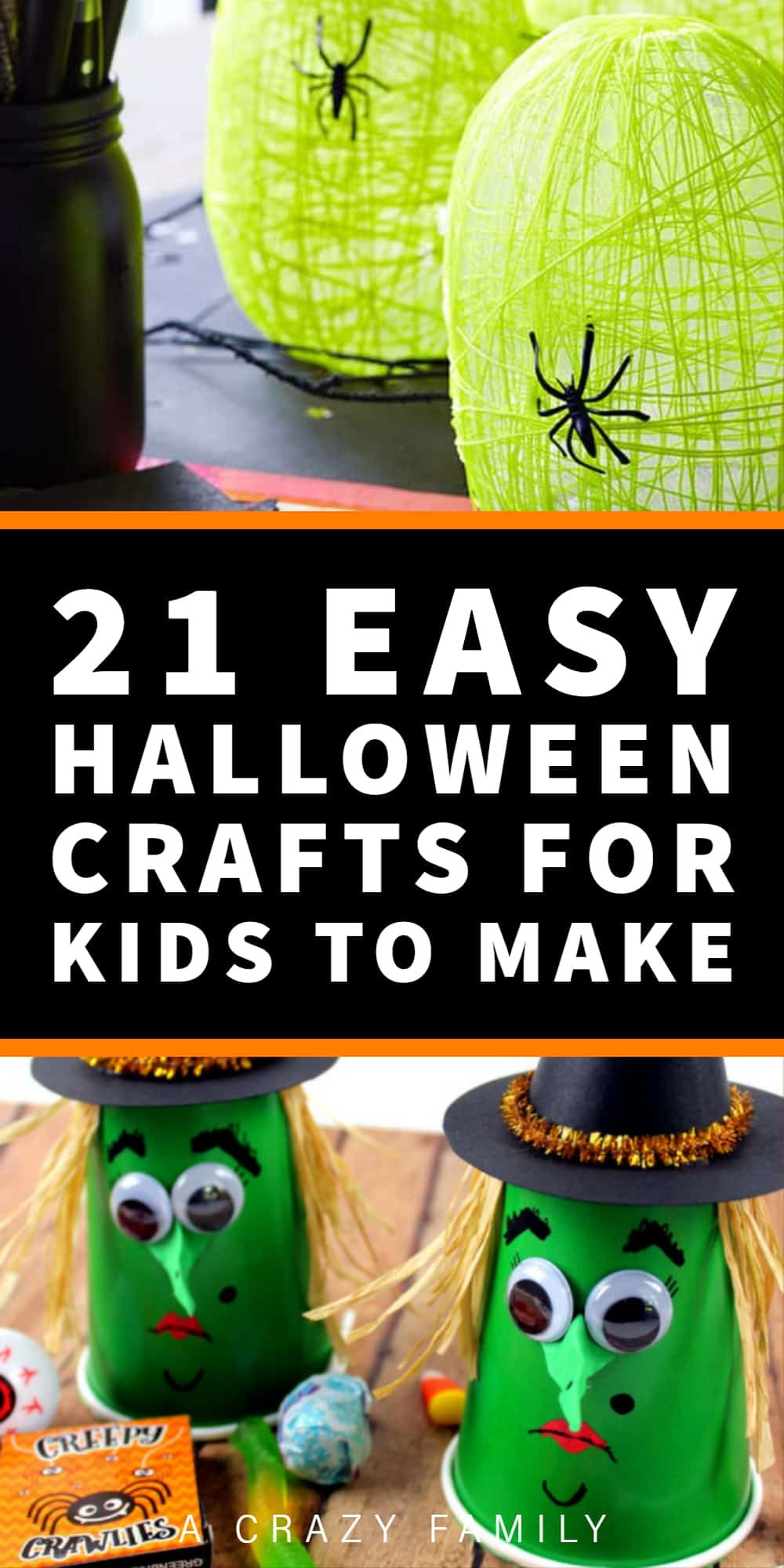 21 Easy Halloween Crafts for Kids to Make