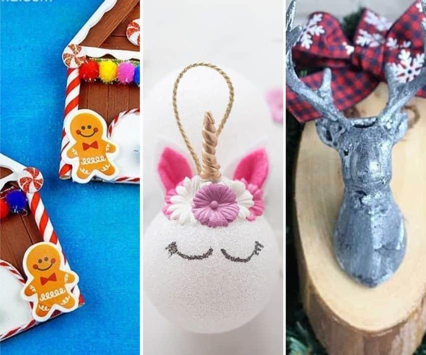 21 Easy-to-make DIY Christmas Tree Ornaments