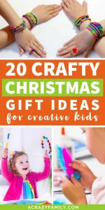 20 Crafty Christmas Gifts for Creative Kids
