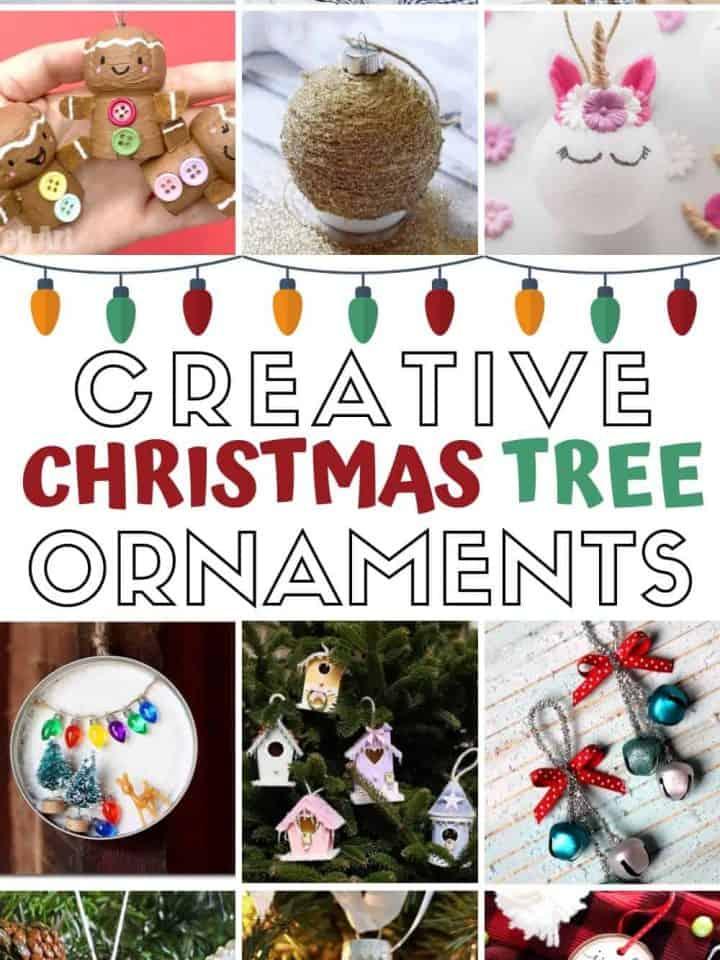 21 Creative Christmas Tree Ornaments