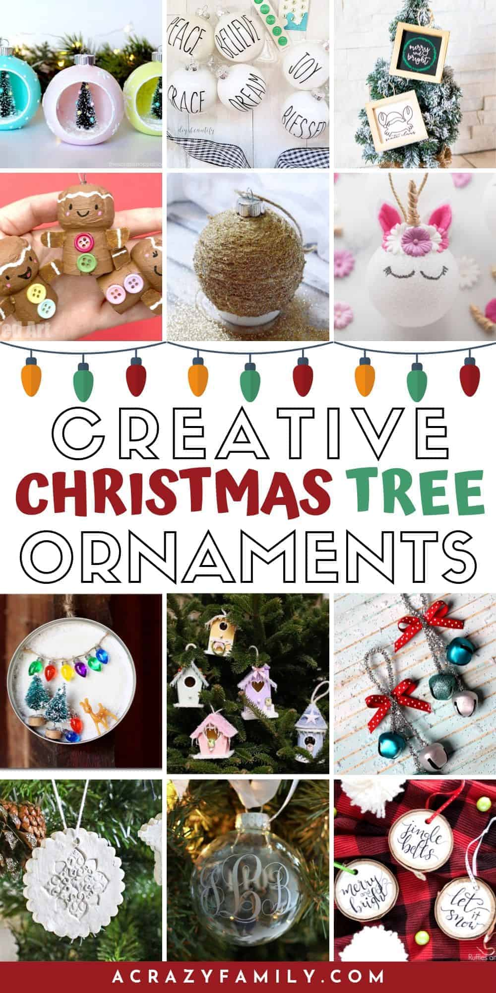 21 Creative Christmas Tree Ornaments