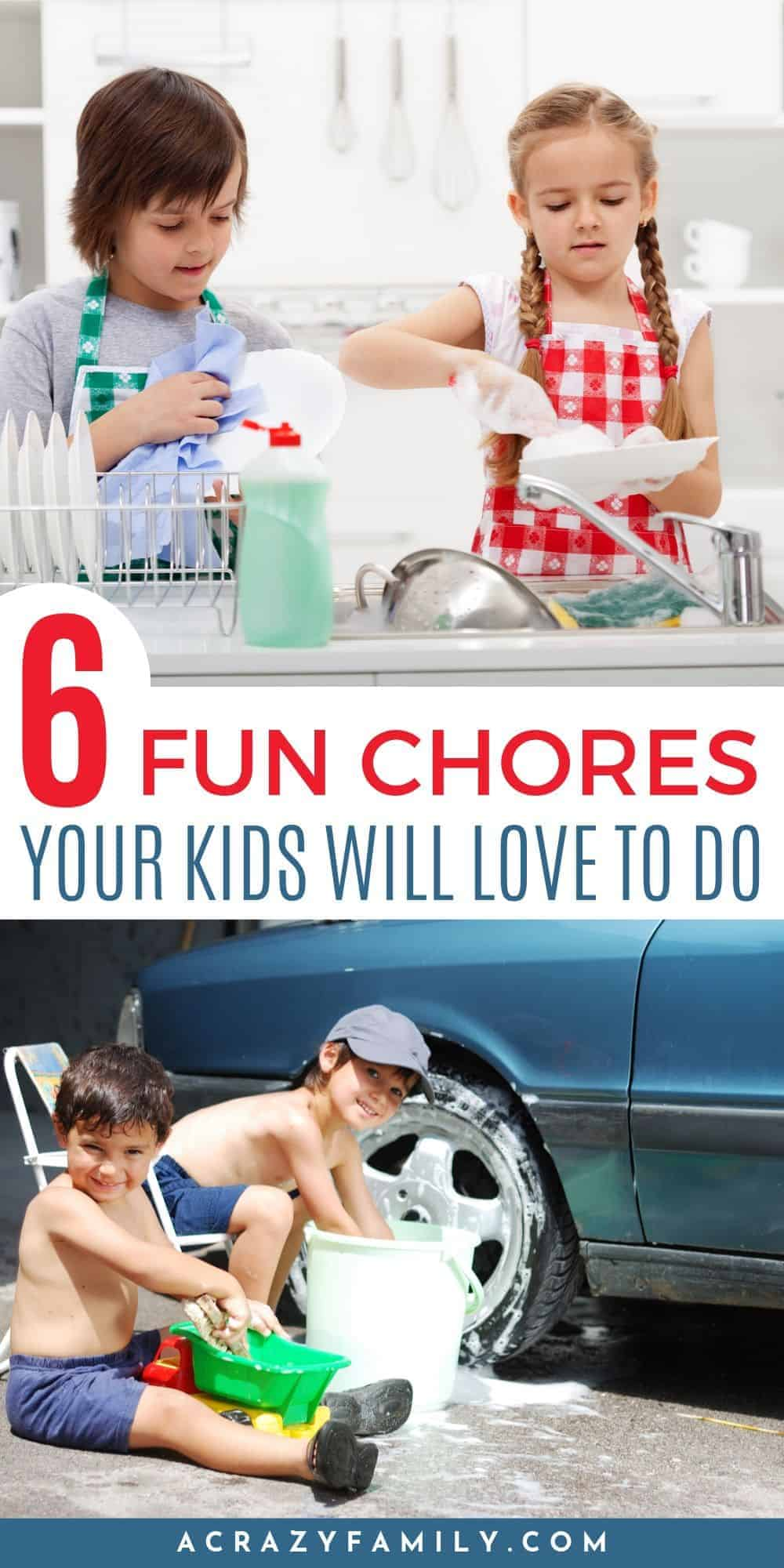 6 Fun Chores Your Kids Will Love to Do