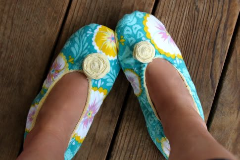 Cute Fabric Slippers