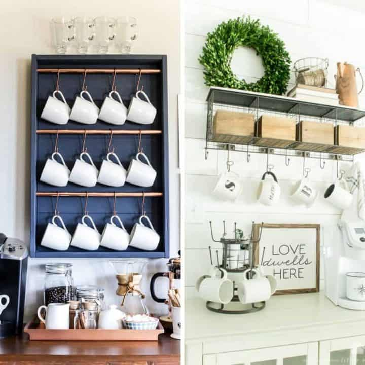 21+ Best DIY Coffee Bars to Add to Your Home