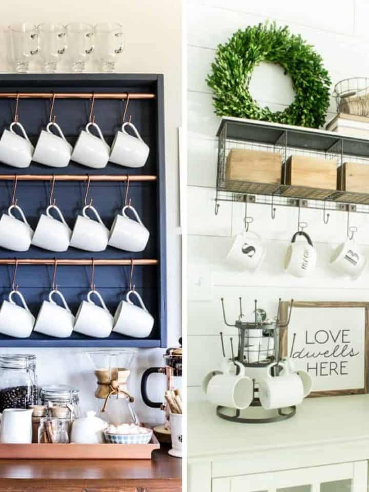 21 Best DIY Coffee Bars to Add to Your Home