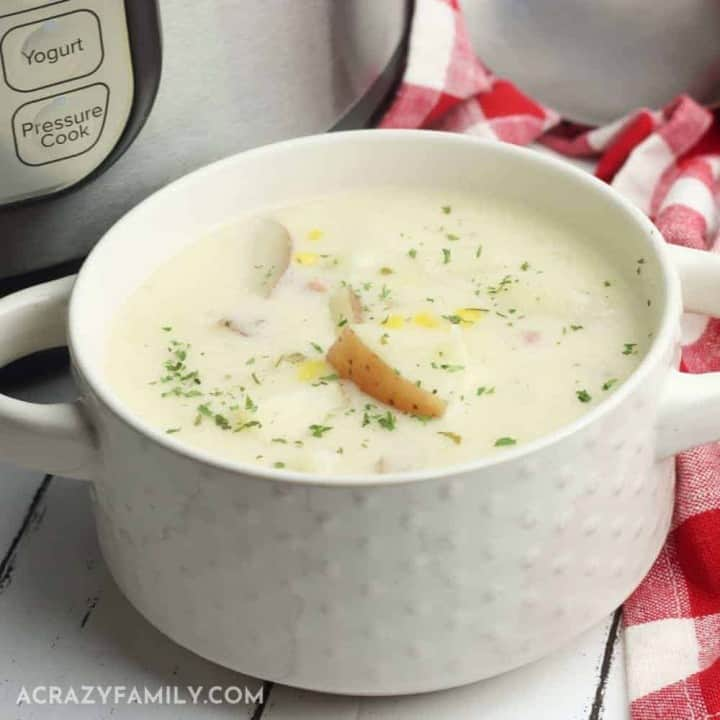 Instant Pot Ham and Potato Chowder