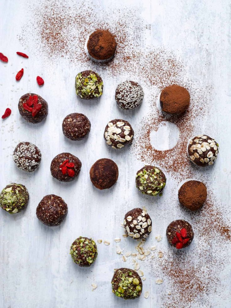 Nutty Date Energy Balls