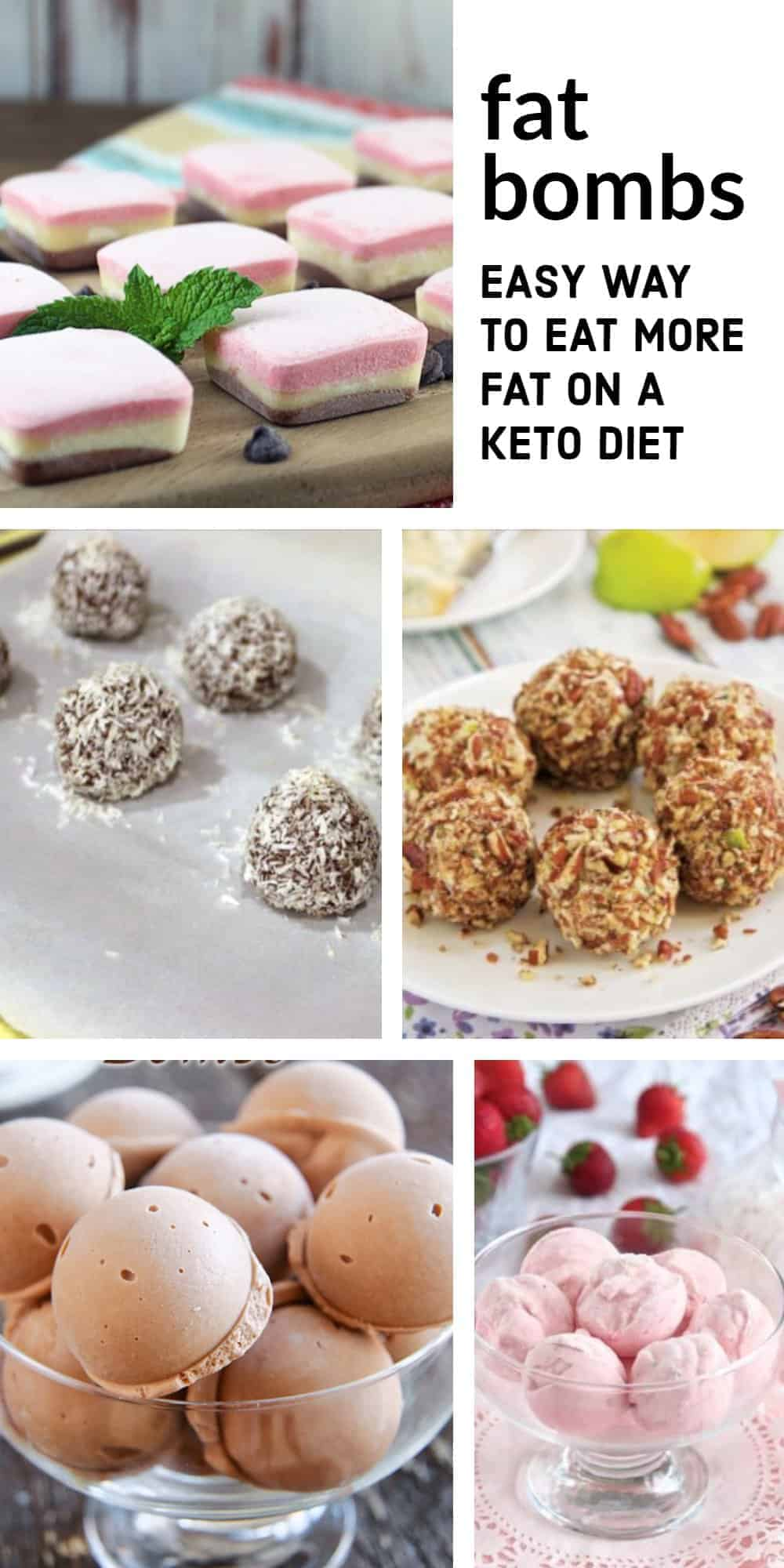 ketosis fat bombs including protein balls