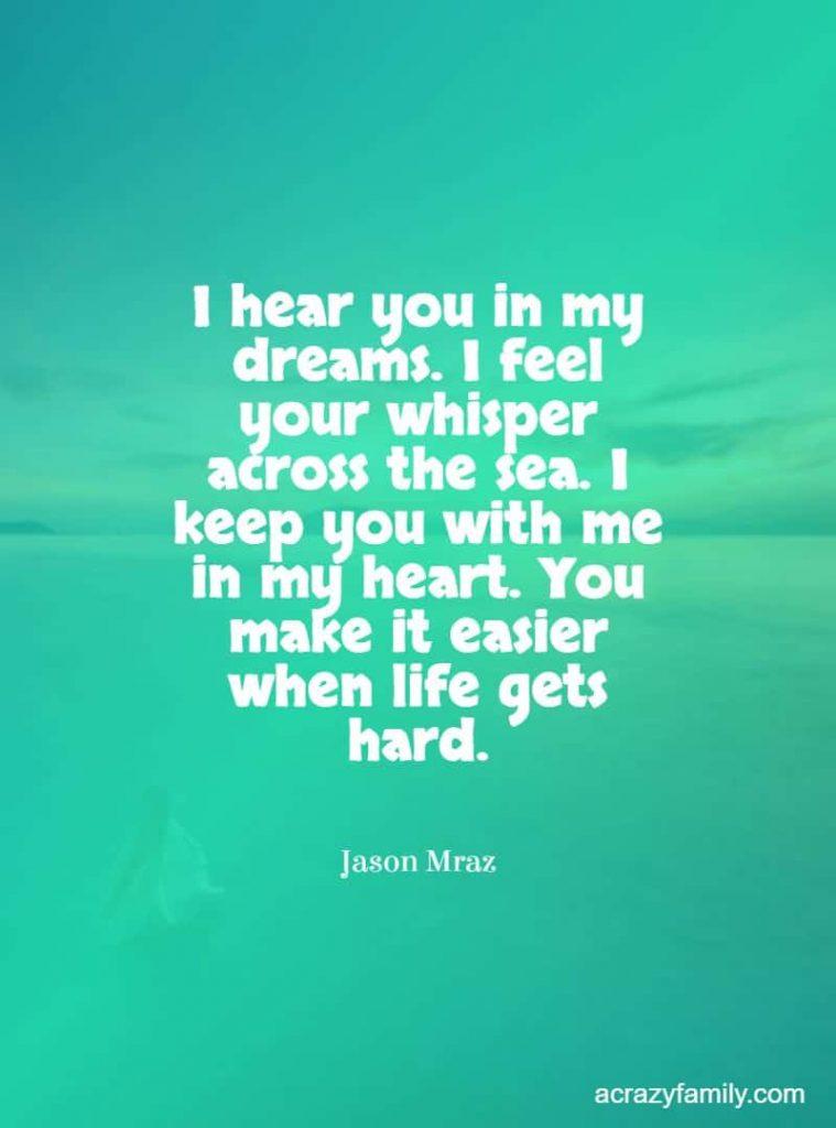 Lucky romantic song lyrics by Jason Mraz