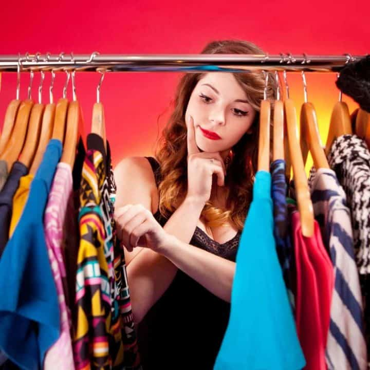 Why We Keep Clothes We Don't Wear and How to Get Past It