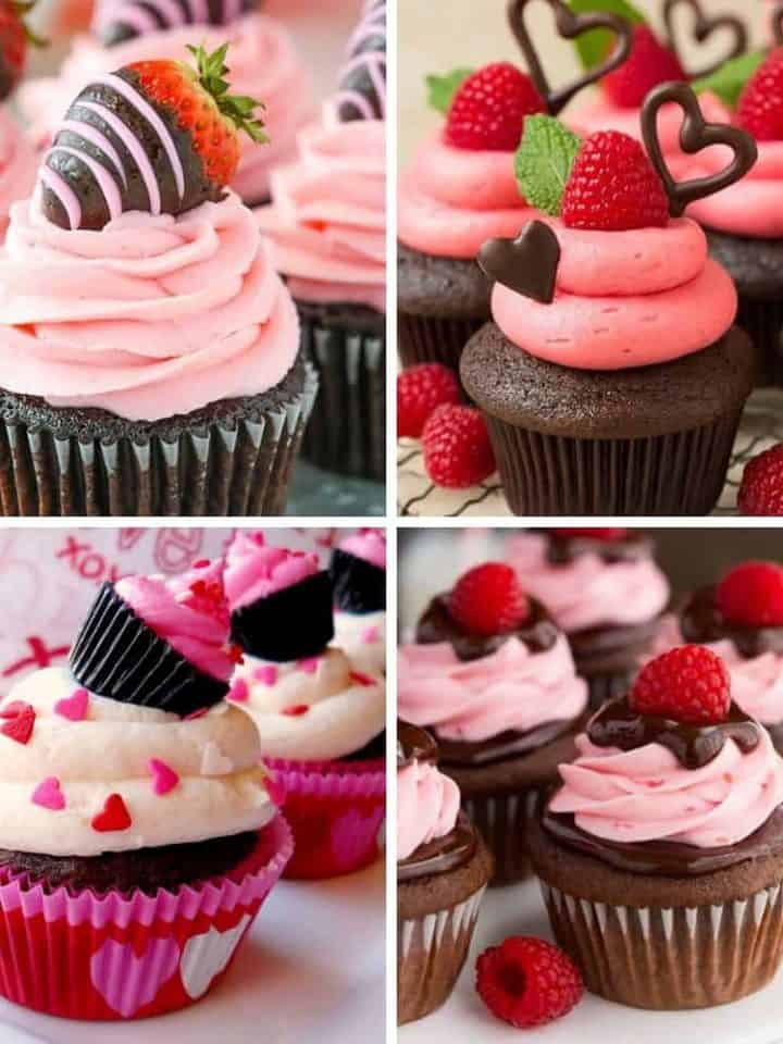 21 Delicious Valentine's Day Cupcakes
