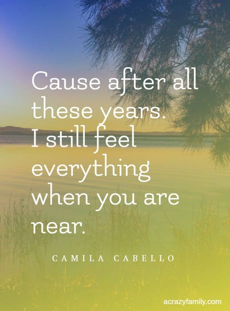 All these Years by Camilla Cabello romantic song lyrics