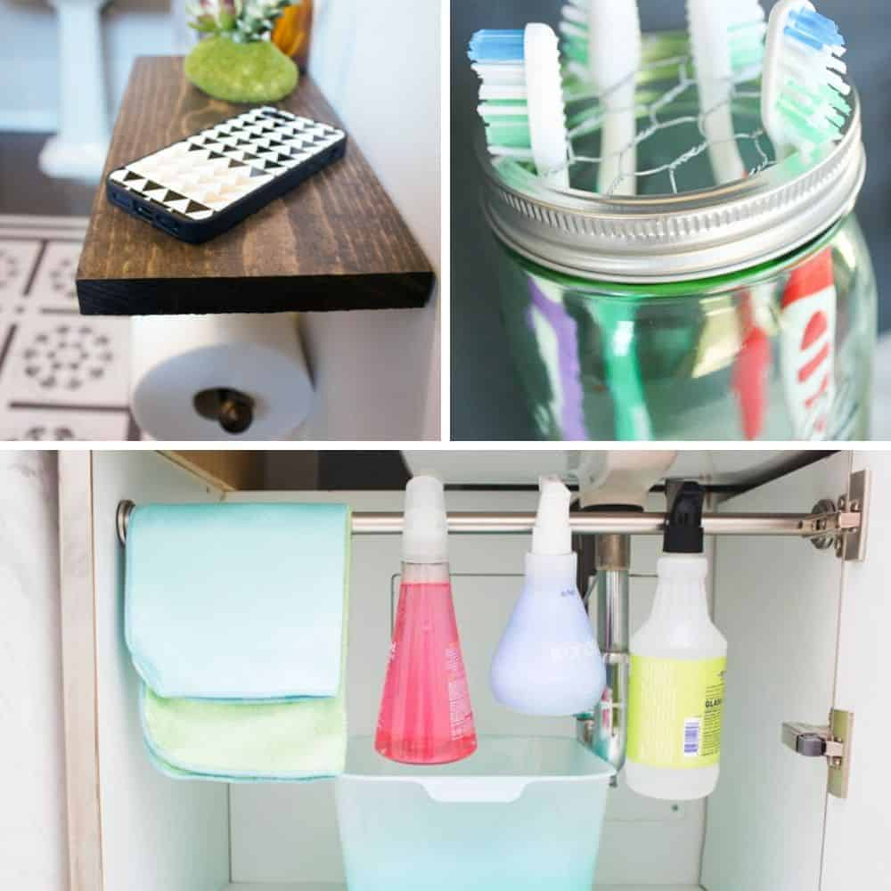 40+ Mind-Blowing Bathroom Organization Hacks You Need To Know