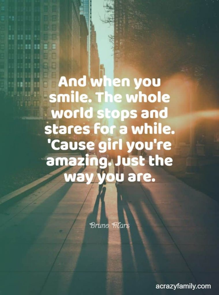 Just the way you are by Bruno Mars song lyrics
