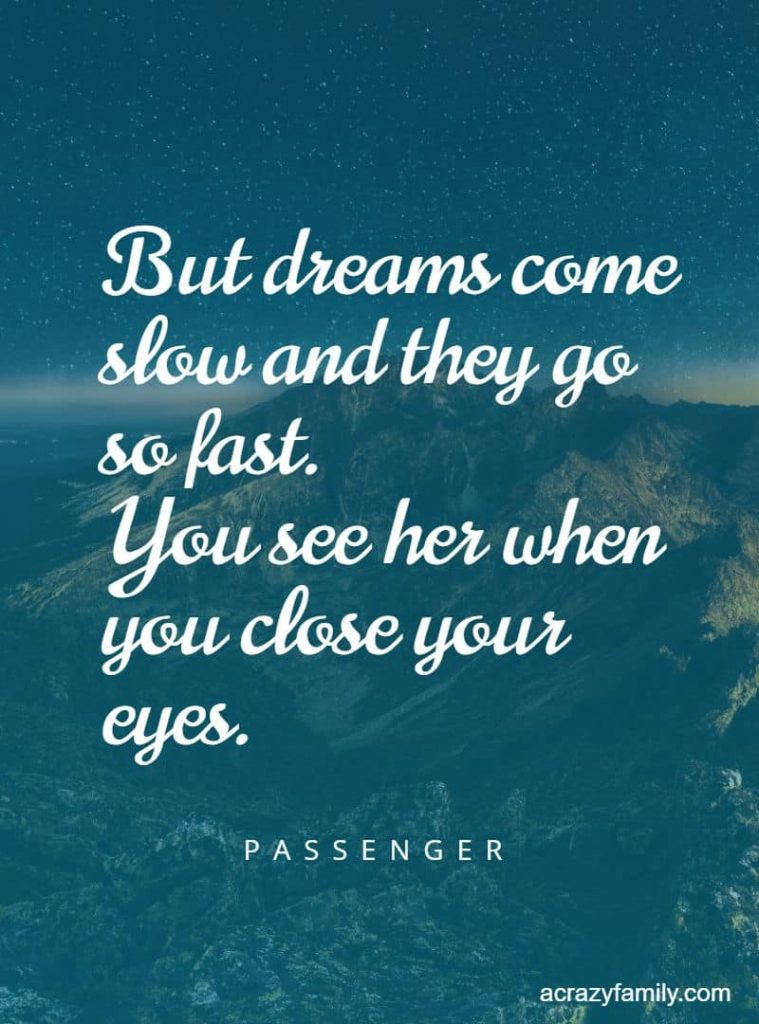 Let her go by Passenger song lyrics