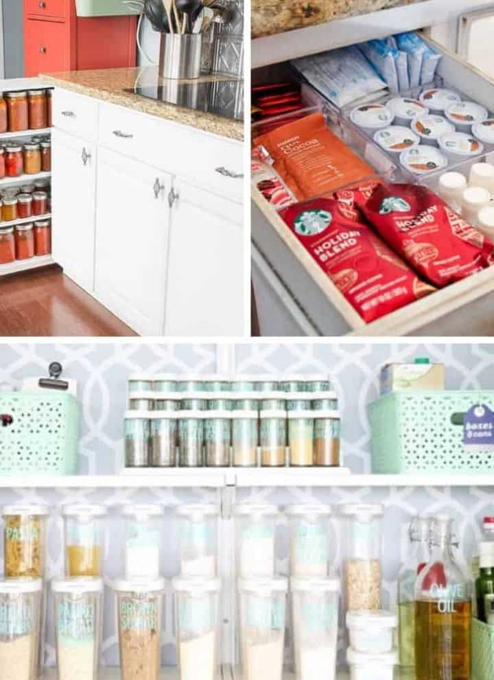 20+ Mind-Blowing DIY Kitchen Organization Hacks