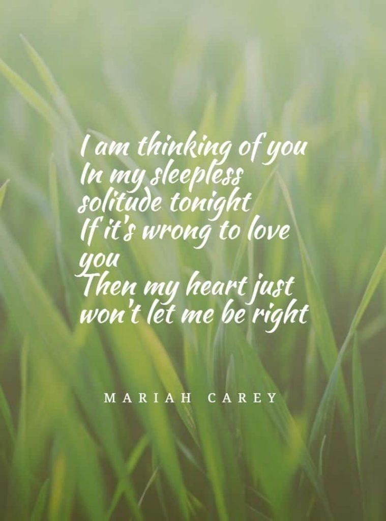 My all by Mariah Carey song lyrics
