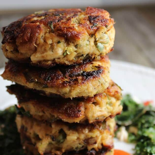 Easy tuna cakes dinner recipe