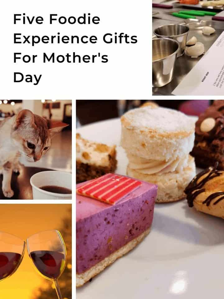 Five Foodie Experience Gifts For Mother's Day For The Perfect Present