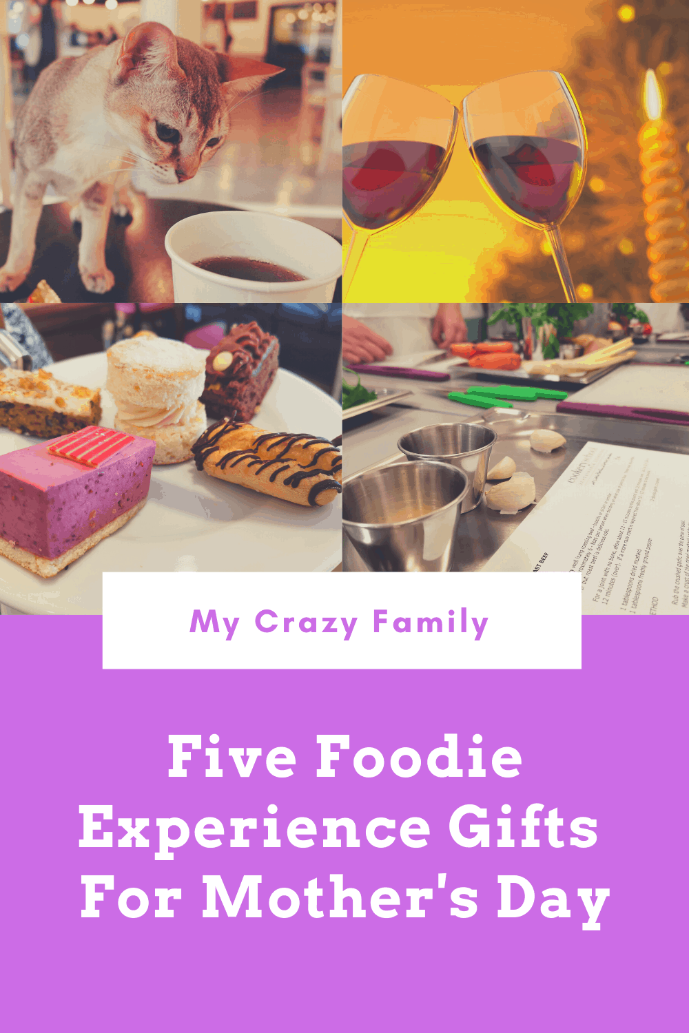 Mother's Day Foodie Experience Gifts