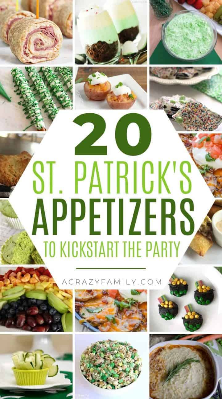 20 St. Patrick's Day Appetizers to Kickstart the Party