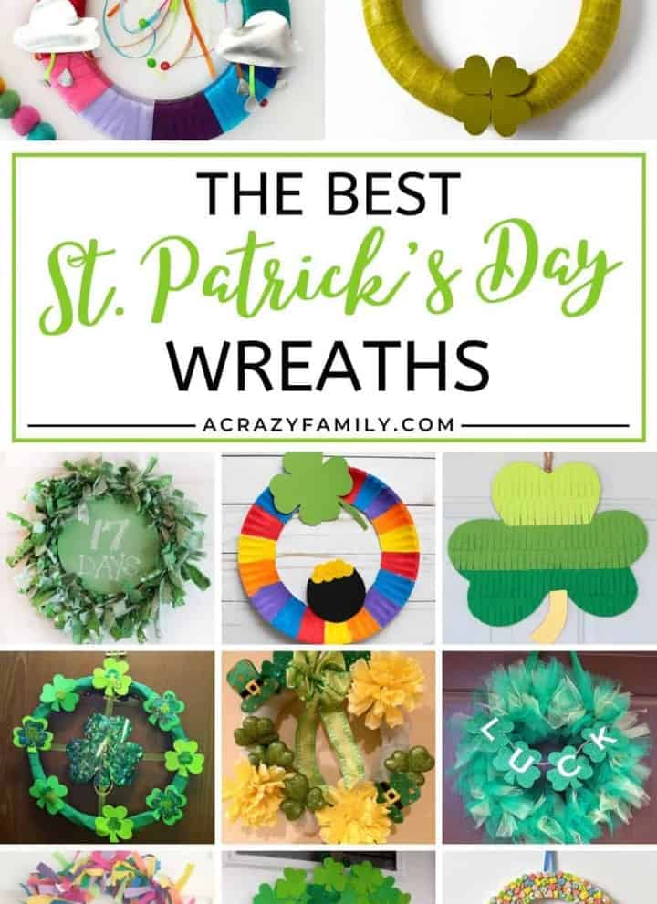 The Best DIY St. Patrick's Day Wreaths