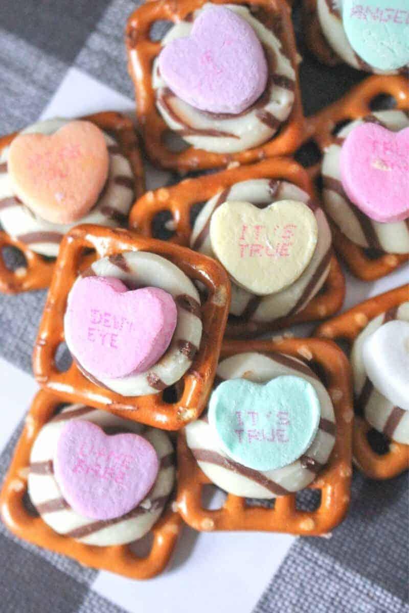 Valentine's Day Pretzels