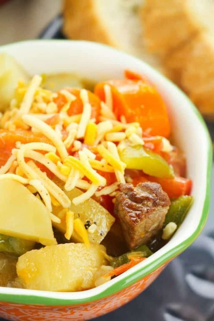 One-Pot Old-Fashioned Beef Stew (Goulash)