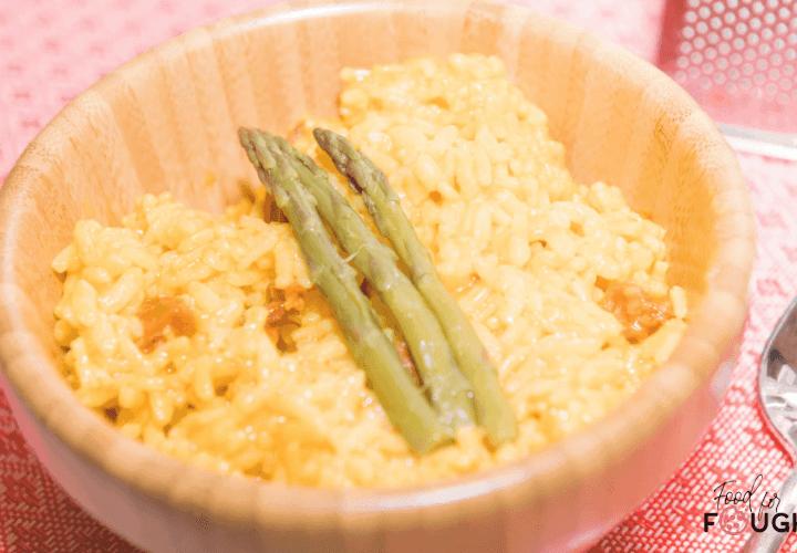 Instant Pot Chorizo Risotto