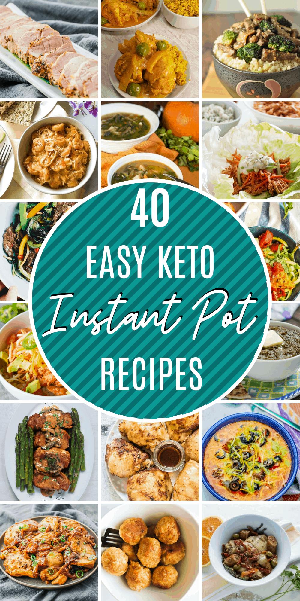 40 instant pot keto recipes