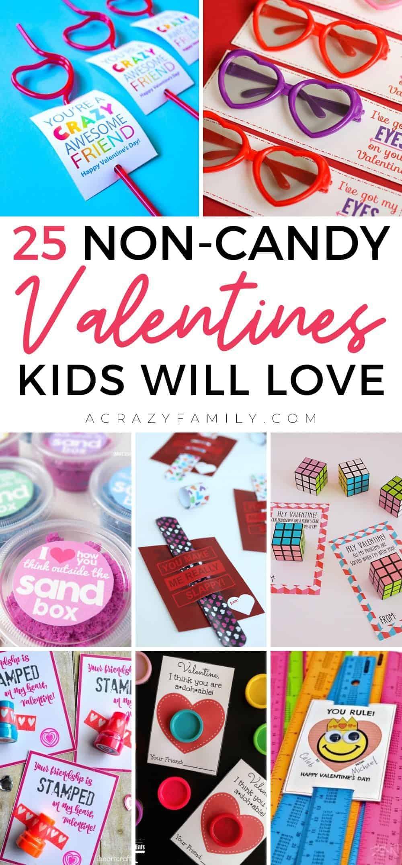 25 Creative Non-Candy Valentines Kids Will Love