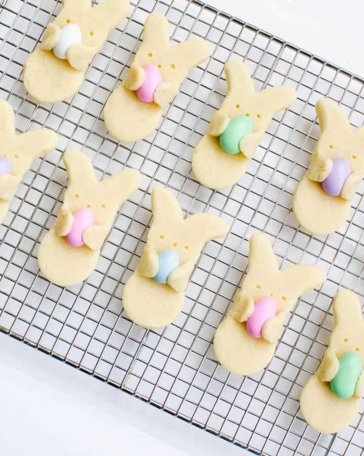 Easter Bunny Cookie Treats