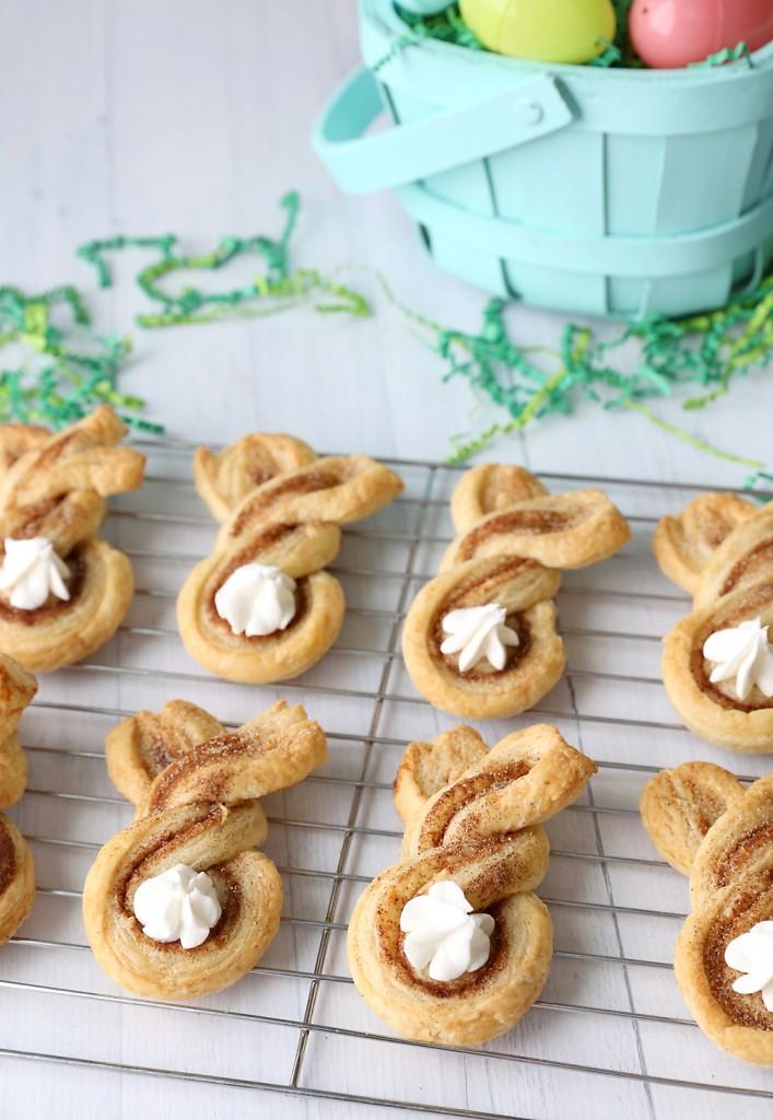 Cinnamon SUgar Easter Bunny Twists