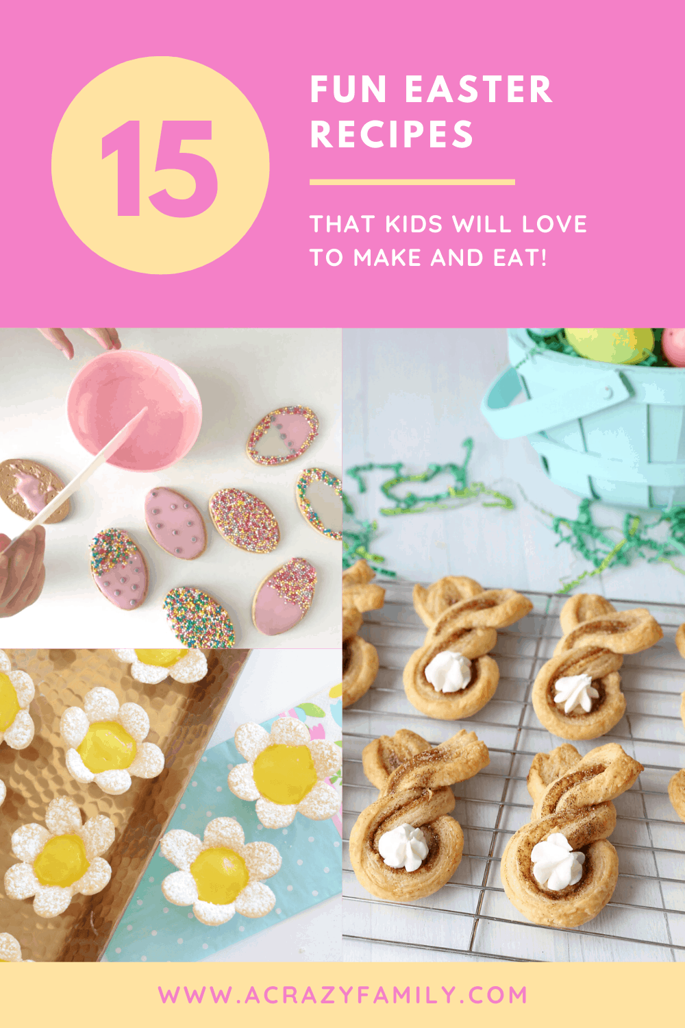 Pinterest image for 15 Fun Easter Recipes For Kids