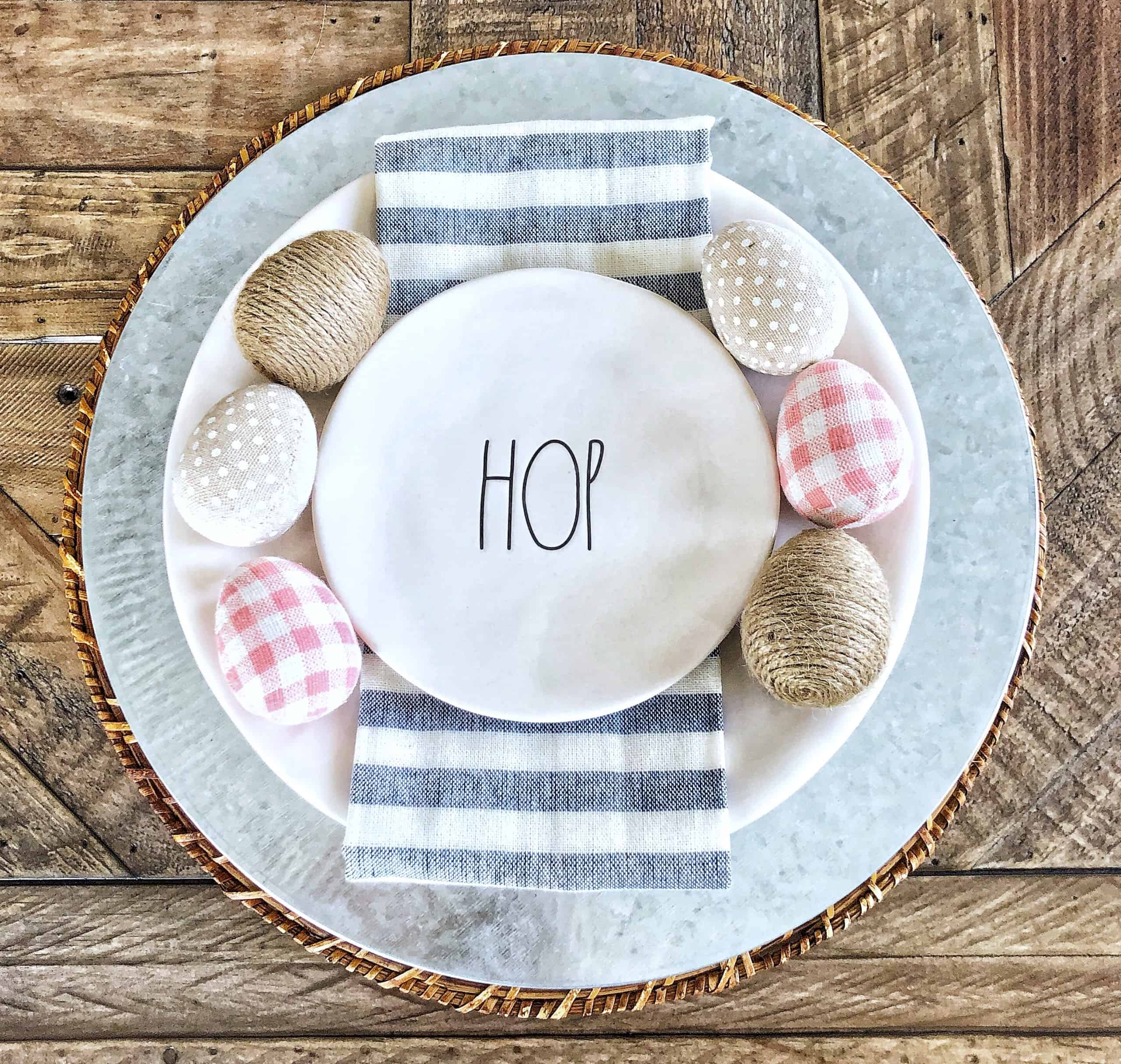 Easter Place Setting Ideas