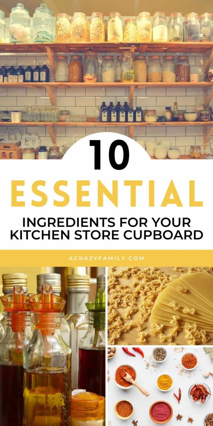 Top 10 Essential Ingredients For Cooking That You Need In Your Kitchen Cupboard
