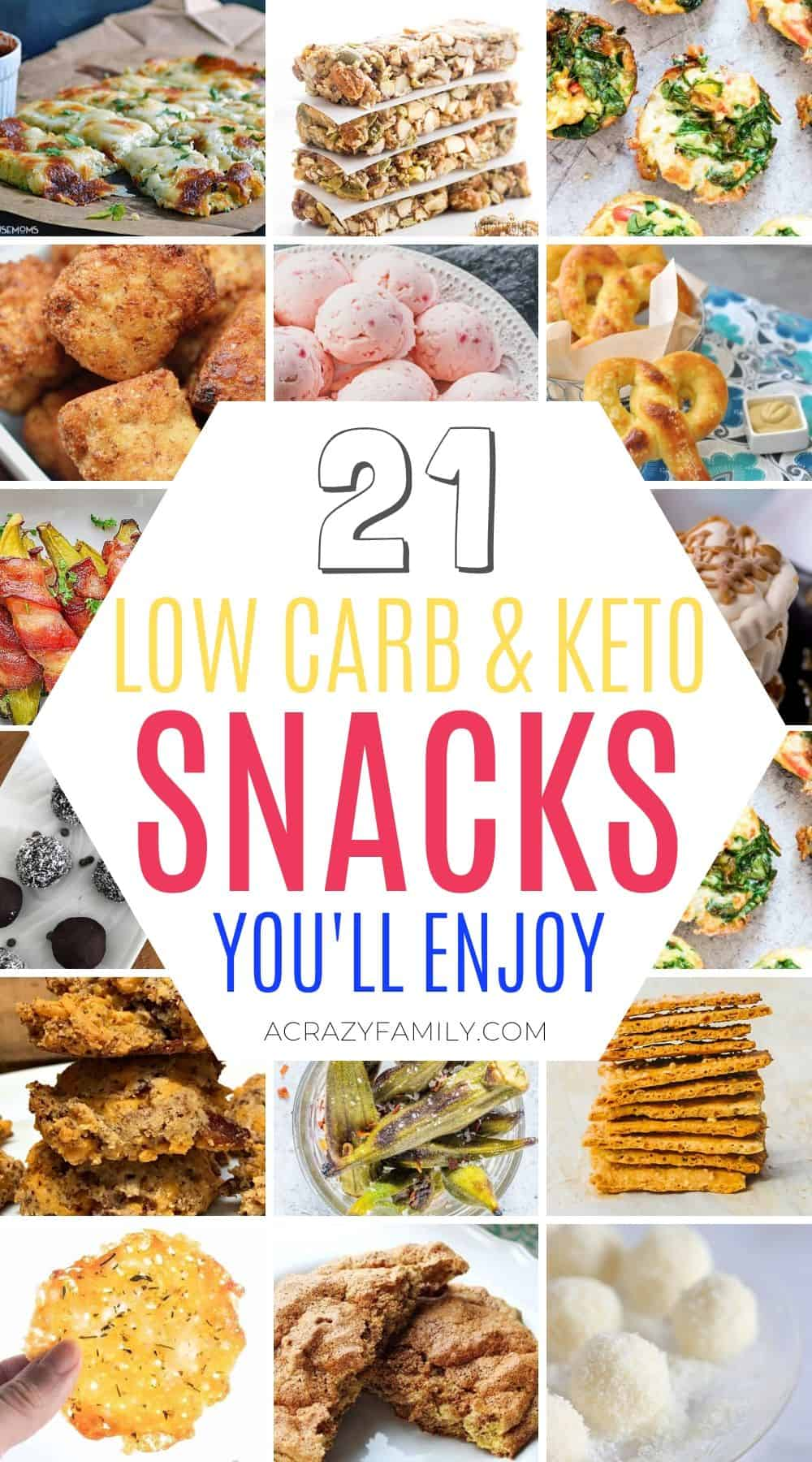 21 Delicious & Easy Keto Snack Recipes