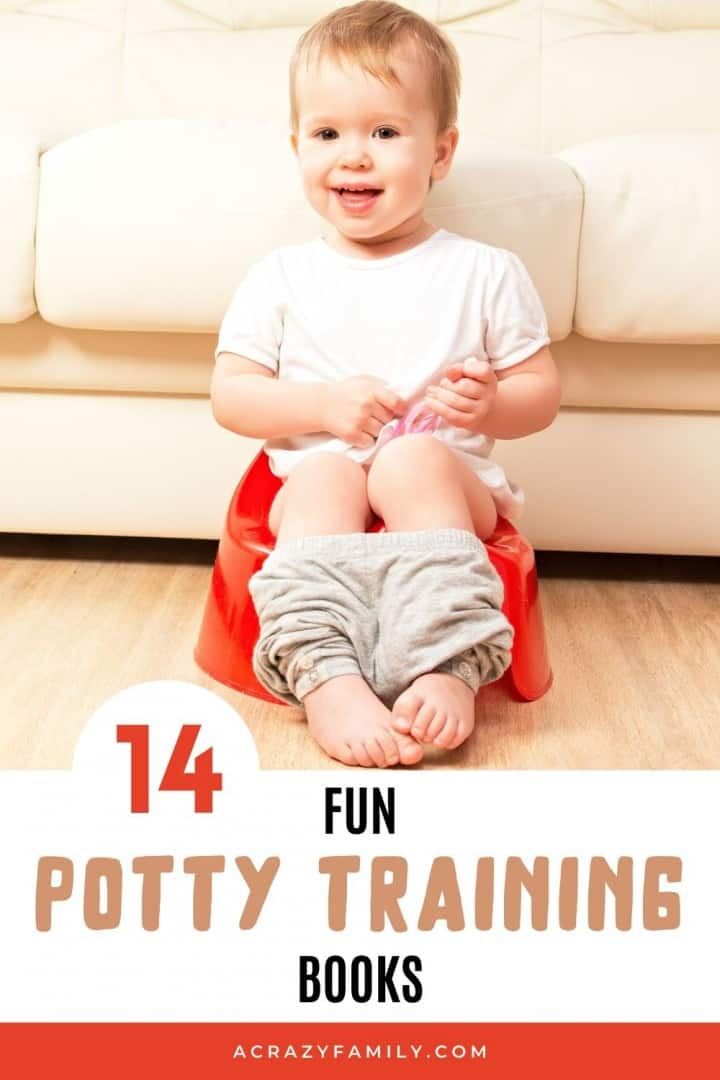 14 Fun Books to Help with Potty Training
