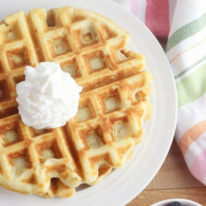 Gluten Free Belgian Waffles