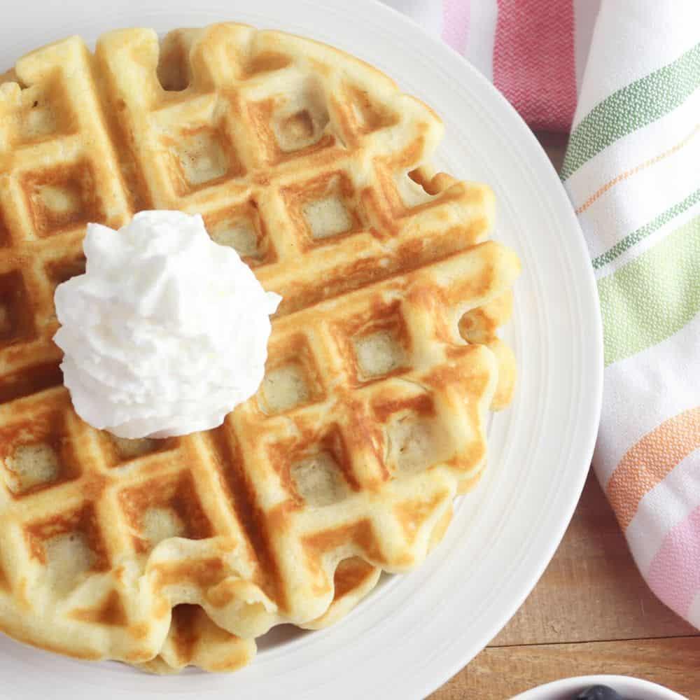Easy Gluten-Free Belgian Waffles Recipe
